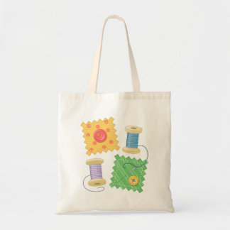Sewing Quilting Craft Hobby Tote Bag
