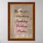 Sewing - Ribbon - Granny's hobby Poster
