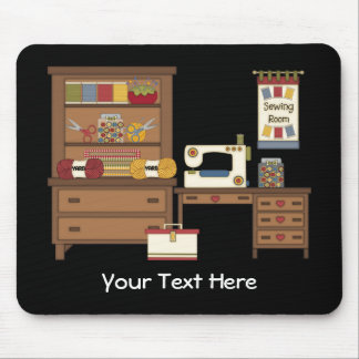 Sewing Room 1 (Personalized) Mouse Pad