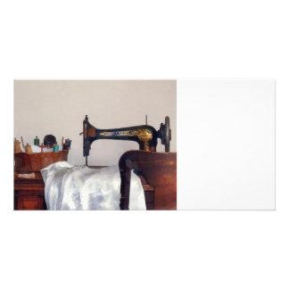 Sewing Room Custom Photo Card