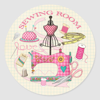 Sewing Room Stickers