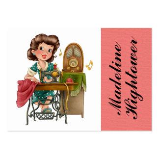 Sewing / Seamstress / Fashion - SRF Large Business Card