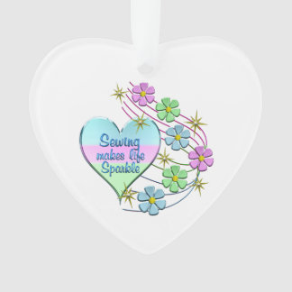 Sewing Sparkles Ornament