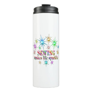 Sewing Sparkles Thermal Tumbler