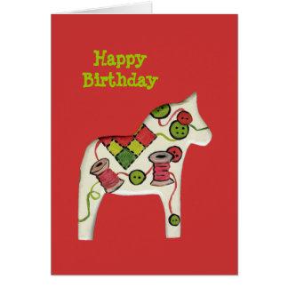 Sewing Theme Birthday Card
