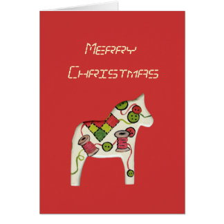 Sewing Theme Christmas Card