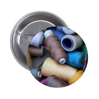 sewing thread badge