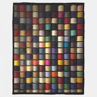 Sewing Thread Pattern on Fleece Blanket