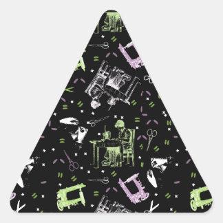 Sewing Triangle Sticker