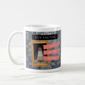 'Sex with Nuns' mug, Patterned Coffee Mug