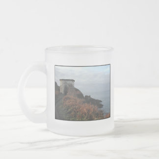 Sexton Burrow Lookout Tower. England Frosted Glass Coffee Mug