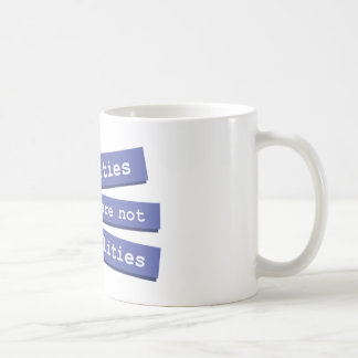 Sexualities Are Not Personalities Mug 001