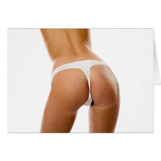 Sexy ass butt girl teen bitch tits boobs greeting card