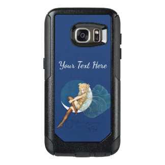 Sexy Blond Fairy Gold Outfit Silk Stockings Moon OtterBox Samsung Galaxy S7 Case