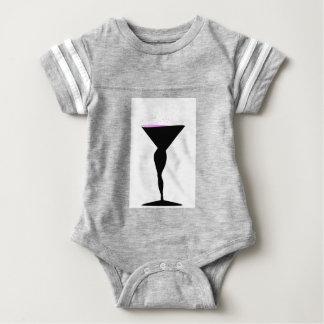 Sexy Champagne Glass Baby Bodysuit
