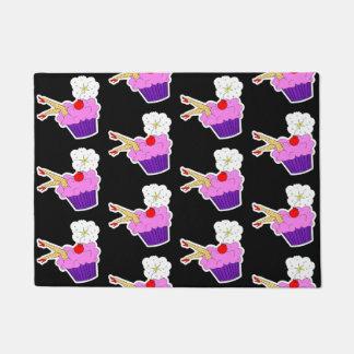 Sexy Cupcake Door Mat