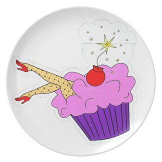 Sexy Cupcake Plate