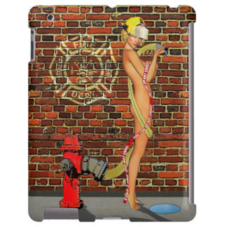 Sexy Firefighter PinUp