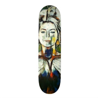 Sexy Girl Acrylic Element Custom Pro Board Skateboards
