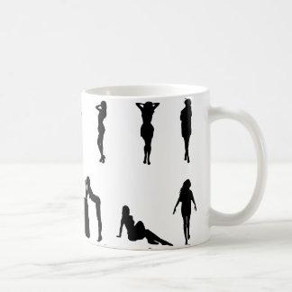 Sexy Girl  Silhouette Coffee Mug