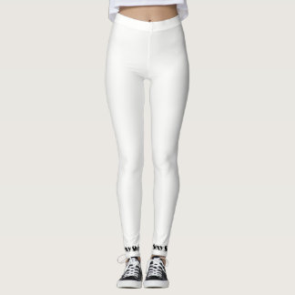 Sexy Leggings White / black