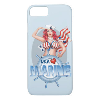 SEXY MARINE  CARTOON Apple iPhone 7  BARELY THERE iPhone 8/7 Case
