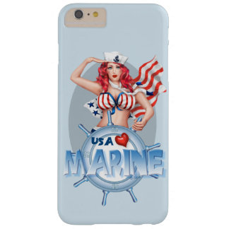 SEXY MARINE  CARTOON iPhone 6/6s Plus  BT Barely There iPhone 6 Plus Case