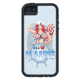 SEXY MARINE  CARTOON iPhone SE + iPhone 5/5S TX iPhone 5 Covers