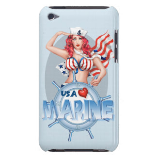 SEXY MARINE  CARTOON  iPod Touch BT iPod Touch Cases