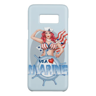 SEXY MARINE  CARTOON  Samsung Galaxy8 BARELY THERE Case-Mate Samsung Galaxy S8 Case