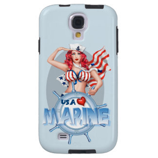 SEXY MARINE  CARTOON  Samsung Galaxy S4  TOUGH