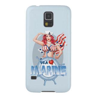 SEXY MARINE  CARTOON  Samsung Galaxy S5  BT Case For Galaxy S5