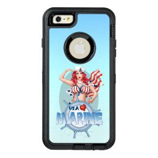 SEXY MARINE USA Apple iPhone 6 Plus  DS OtterBox iPhone 6/6s Plus Case