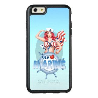 SEXY MARINE USA Apple iPhone 6 Plus  SS OtterBox iPhone 6/6s Plus Case