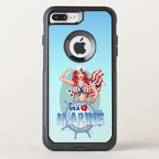 SEXY MARINE USA Apple iPhone 7 Plus   CS
