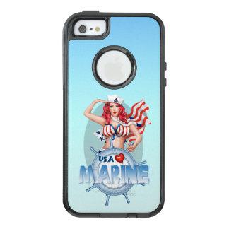 SEXY MARINE USA Apple iPhone SE/5/5s   CS