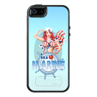 SEXY MARINE USA Apple iPhone SE/5/5s   SS