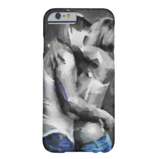 Sexy Painting of Passionate Lovers Barely There iPhone 6 Case