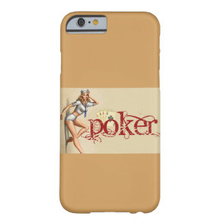 Sexy poker woman barely there iPhone 6 case