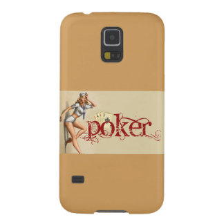 Sexy poker woman galaxy s5 covers
