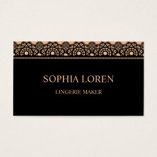 Sexy race/lace business card
