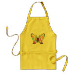 SEXY RAINBOW BUTTERFLY PATTERN APRON