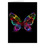 SEXY RAINBOW BUTTERFLY PATTERN CARDS