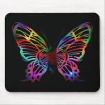 SEXY RAINBOW BUTTERFLY PATTERN MOUSE PADS