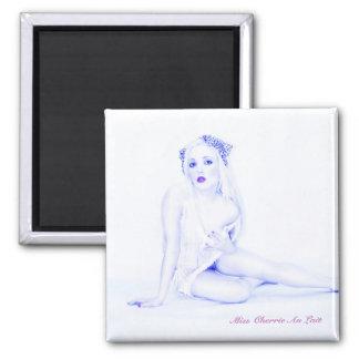 Sexy Vintage Pinup Girl Model Babe Fridge Magnet