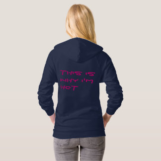 SEXY Women's American California Fleece Hoodie