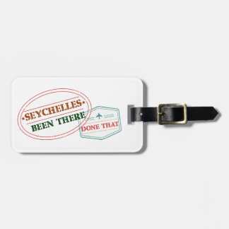 Seychelles Been There Done That Luggage Tag