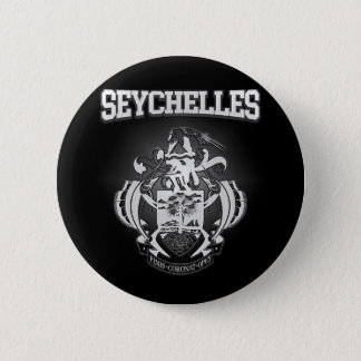 Seychelles Coat of Arms 2 Inch Round Button
