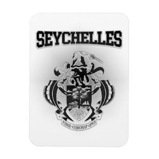 Seychelles Coat of Arms Magnet