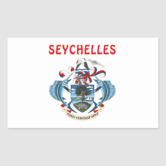 Seychelles Coat Of Arms Sticker